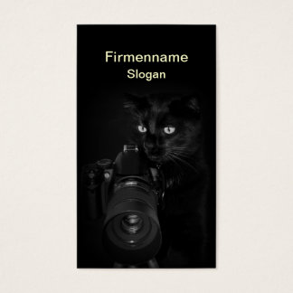 The photographer - visiting card collecting main
