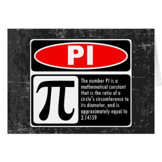The Pi Explaination Card