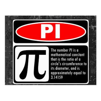 The Pi Explaination Postcard