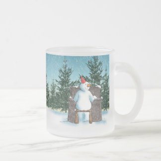 The Pianist Frosted Glass Coffee Mug