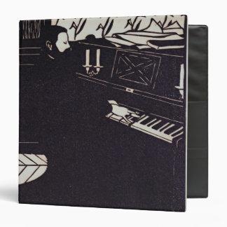 The Piano, 1914 (woodcut) Binder