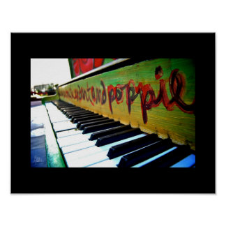 The Piano, Downtown Denver [Art Print] Poster