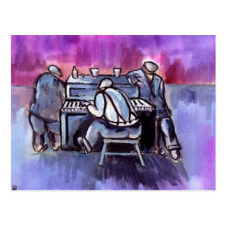 THE PIANO PLAYER POSTCARDS