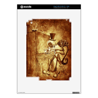 the piano player decal for iPad 2