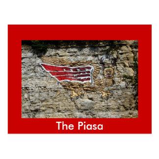 The Piasa Postcard
