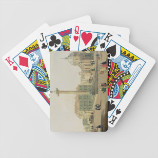 The Piazza Colonna, Rome Bicycle Playing Cards