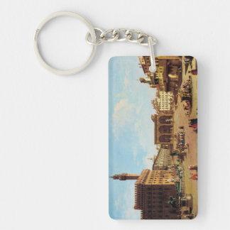 The Piazza della Signoria in Florence Keychain