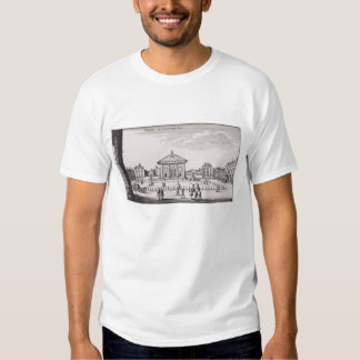 The Piazza in Covent Garden, 1647 (engraving) Shirt