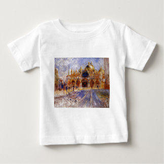 The Piazza San Marco by Pierre-Auguste Renoir Baby T-Shirt