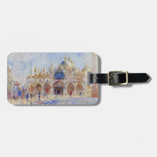 The Piazza San Marco, Venice, 1881 (oil on canvas) Bag Tag