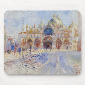 The Piazza San Marco, Venice, 1881 (oil on canvas) Mouse Pad