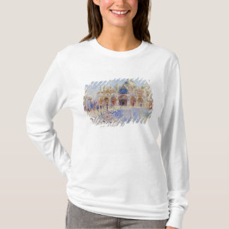 The Piazza San Marco, Venice, 1881 (oil on canvas) T-Shirt