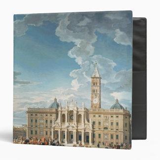 The Piazza Santa Maria Maggiore, 1752 Vinyl Binders