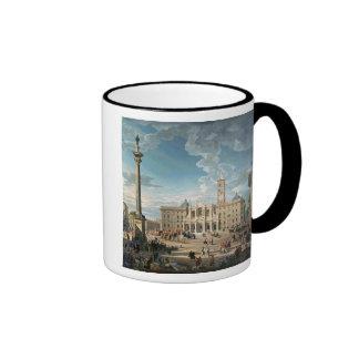 The Piazza Santa Maria Maggiore, 1752 Coffee Mug