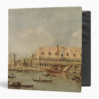 The Piazzetta and the Palazzo Ducale 3 Ring Binder