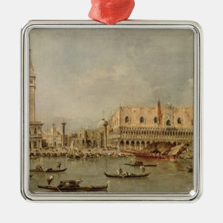 The Piazzetta and the Palazzo Ducale Christmas Tree Ornament