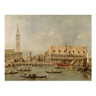 The Piazzetta and the Palazzo Ducale Postcard