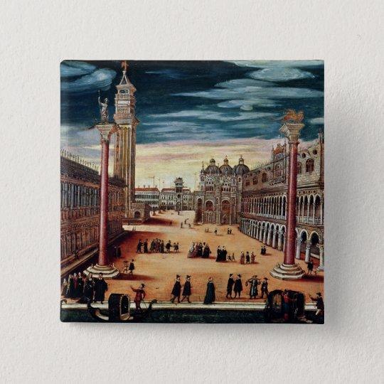 The Piazzetta di San Marco, Venice Pinback Button