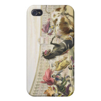 The Picador in Danger, 1865 (colour litho) iPhone 4/4S Case