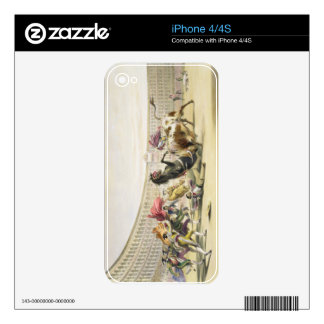 The Picador in Danger, 1865 (colour litho) Skins For The iPhone 4S