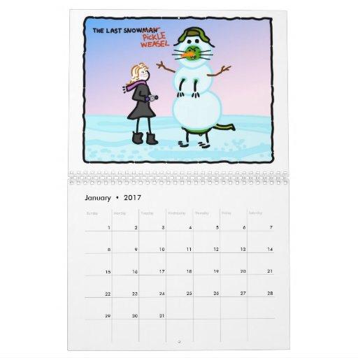 The Pickle Weasel Calendar! Calendar