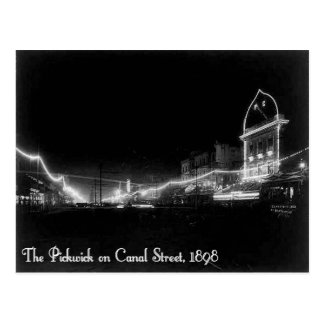 The Pickwick Club New Orleans On Canal Street Postcard