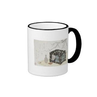 The Picnic Hamper Ringer Coffee Mug