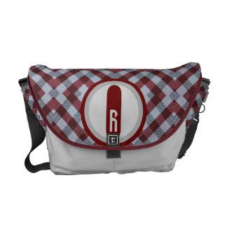 The Picnic Pattern Blanket Messenger Bag