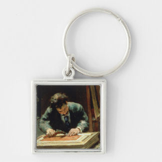 The Picture Framer, 1878 Keychain