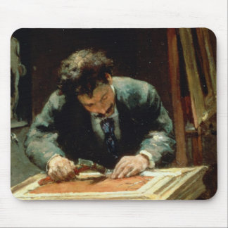 The Picture Framer, 1878 Mouse Pad