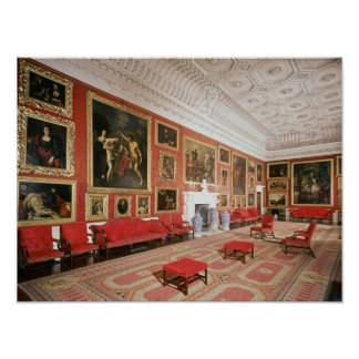 The Picture Gallery, plasterwork Poster