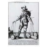 The Picture of Pattenty', c.1641-50 Greeting Cards