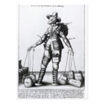 The Picture of Pattenty', c.1641-50 Post Cards