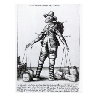 The Picture of Pattenty', c.1641-50 Postcard