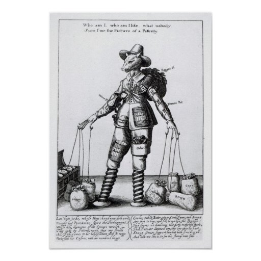 The Picture of Pattenty', c.1641-50 Poster