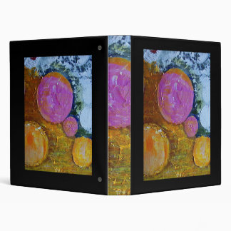 The Pictures Of Circles 3 Ring Binder