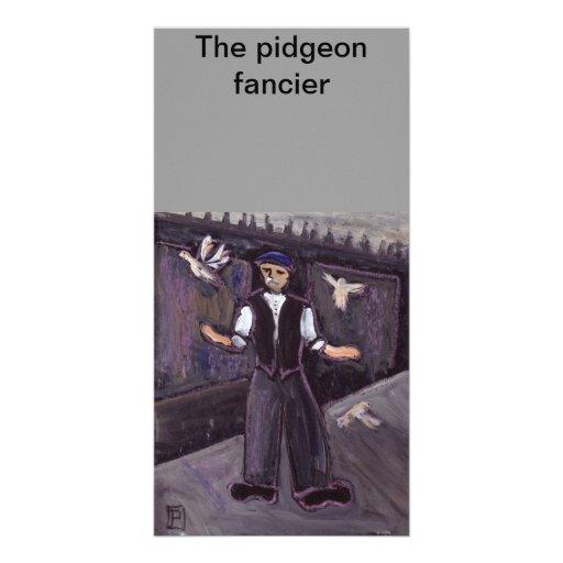 (The pidgeon fancier Photo Card)