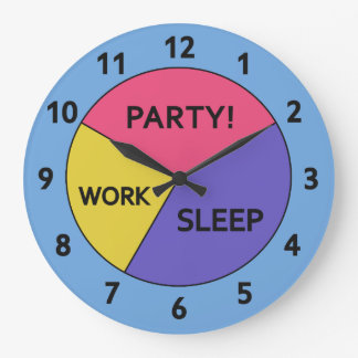 The Pie Chart of Life clock
