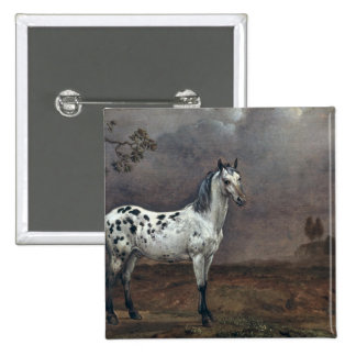 The Piebald Horse, 1653 Pin