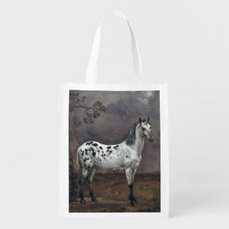 The Piebald Horse, 1653 Reusable Grocery Bag