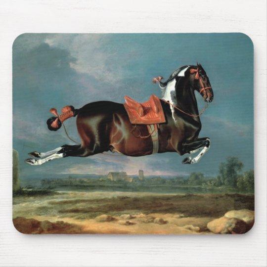 "The Piebald Horse ""Cehero' Rearing Monogram Mouse Pad"