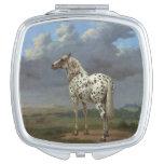 The Piebald Horse Vanity Mirror