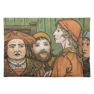 The Pied Piper Cloth Placemat