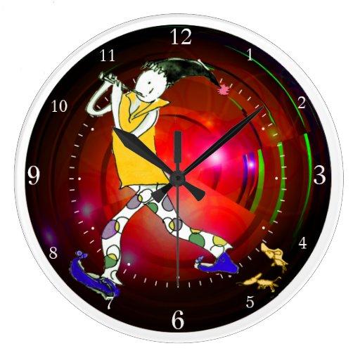 The Pied Piper of Hamelin Clocks