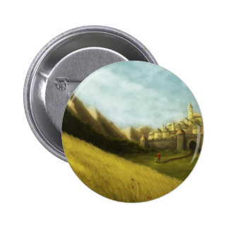 the pied piper of hamelin grimm fairytale button