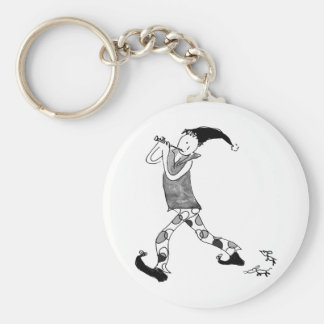 The Pied Piper of Hamelin Keychain