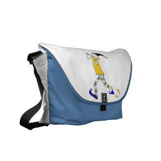 The Pied Piper of Hamelin Messenger Bag