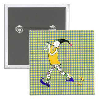 The Pied Piper of Hamelin Pinback Button