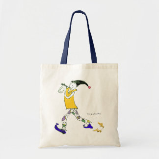 The Pied Piper of Hamelin sign Tote Bag