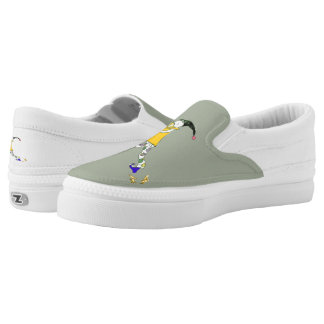 The Pied Piper of Hamelin Slip-On Sneakers